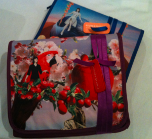 Fruits and Passion - limited edition travel bags with body products