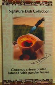 A recipe card from Kon-Tiki restaurant